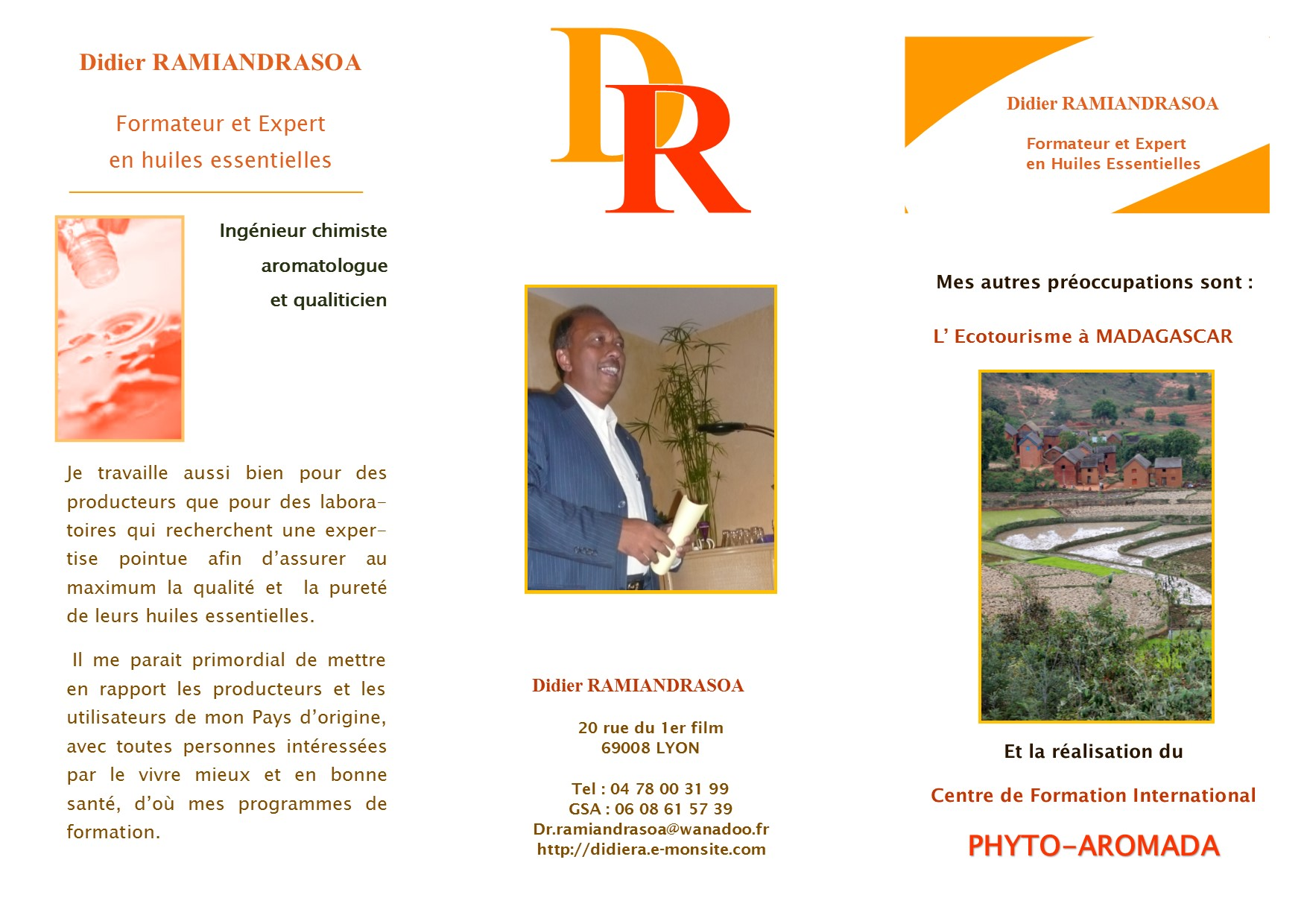 Brochure didier recto